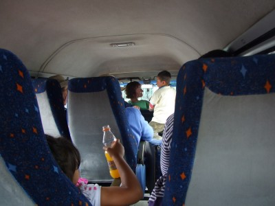 Im Bus nach Arabuco
