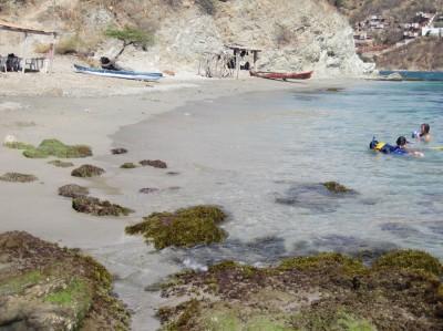 Kleine Neenbucht weiter östlich von Playa Grande Taganga