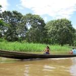 Eindrücke am Amazonas von Kolumbien flussaufwärts von Leticia