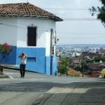 Szene in Cali Kolumbien